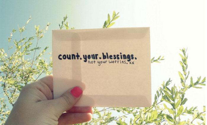 Menghitung Berkat atau Menghitung Cobaan